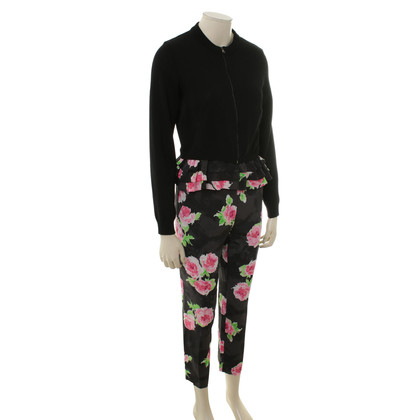 Moschino Twin set with floral pattern
