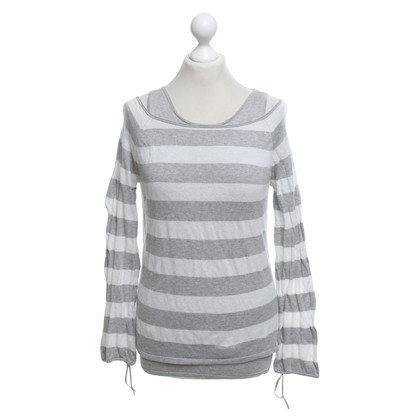Luisa Cerano Sweater with stripe pattern