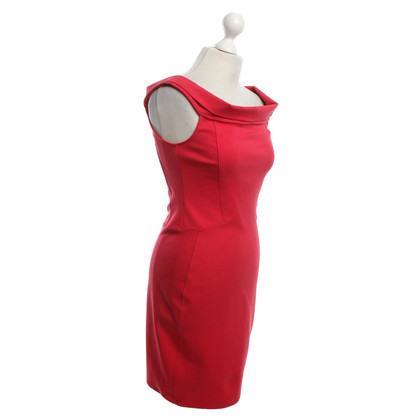 Halston Heritage Dress in red