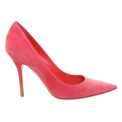 Christian Dior Wildleder Pumps in Rosa