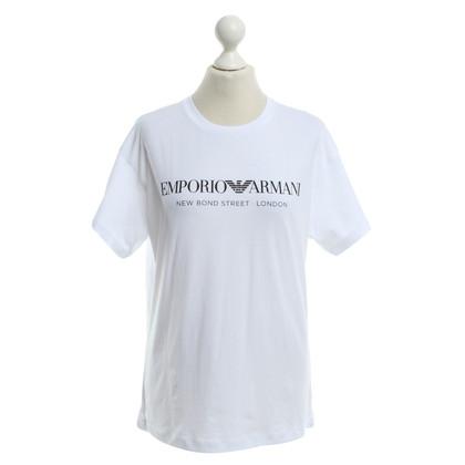 Armani T-Shirt in Weiß