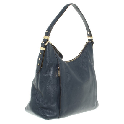 "Michael Kors ""Bowery LG Shoulder Tote Navy"""