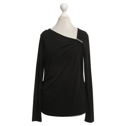 Michael Kors Langarm-Shirt in Schwarz
