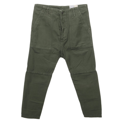 Citizens of Humanity Jeans en vert olive