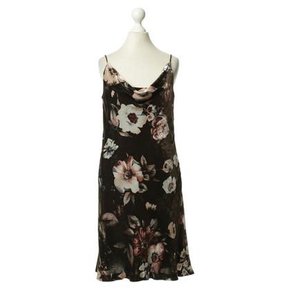 René Lezard Kleid mit Blumen-Print