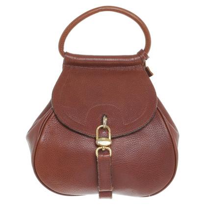 Delvaux Handtasche in Braun