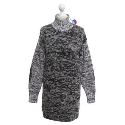 Iceberg Pullover-Kleid in meliertem Ton