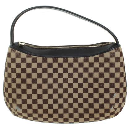 Louis Vuitton Felltasche mit Schachbrett-Muster