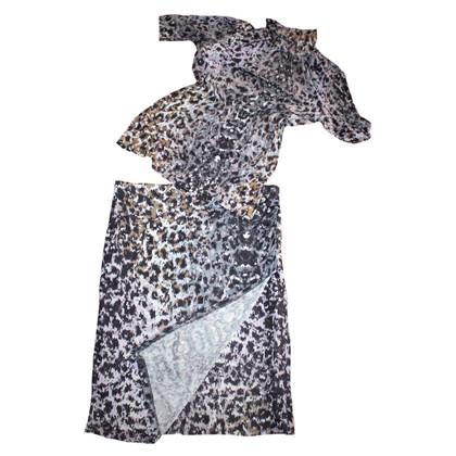 Marc Cain 2 splitter shirt and skirt