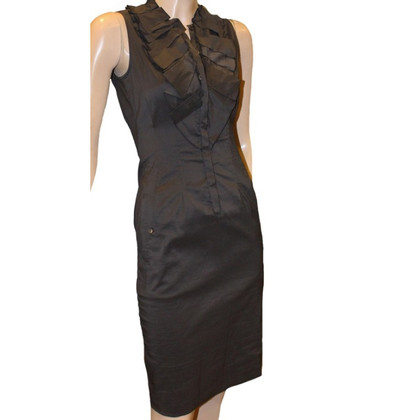 Hugo Boss Opvouwbare jurk met ruffle