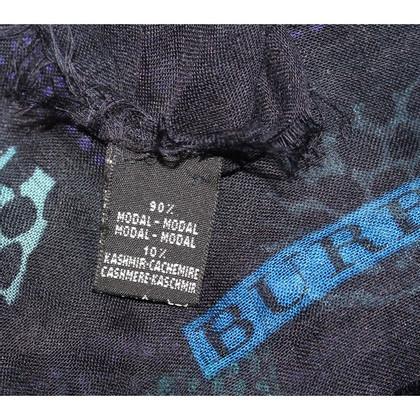 Burberry Blue modal scarf