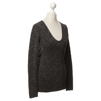 Wolford Long-sleeved shirt with patterns