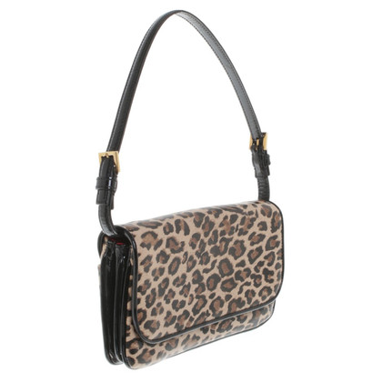 Dolce & Gabbana Clutch mit Animal-Print
