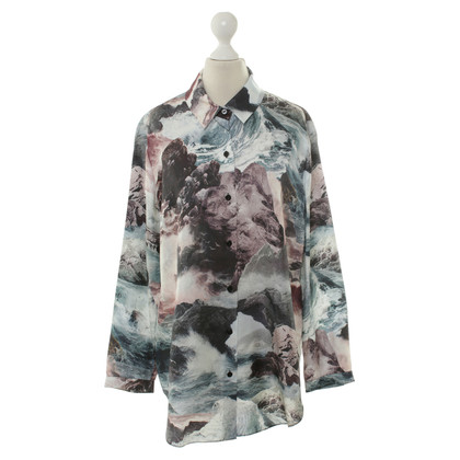 Carven Rock-print blouse