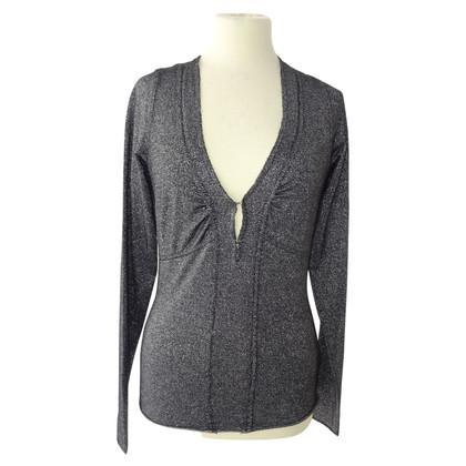 Armani Silver colored sweater
