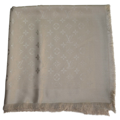 Louis Vuitton Panno di Monogram Louis Vuitton sciarpa beige