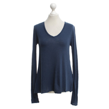 American Vintage top in blue