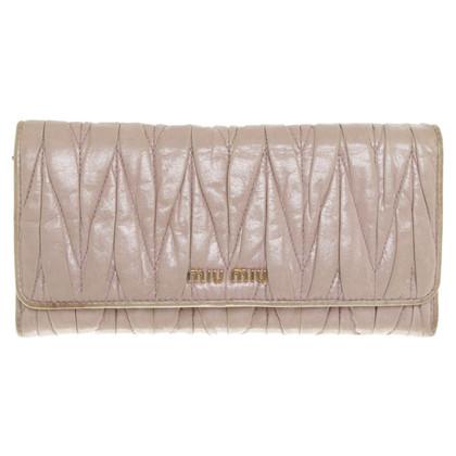 Miu Miu portafoglio in pelle