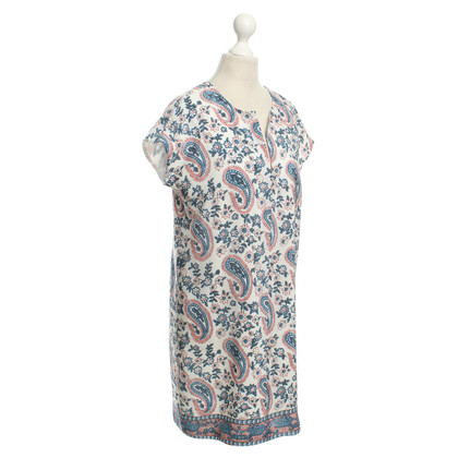 Madewell Silk dress with floral pattern