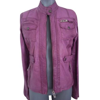 Rich & Royal giacca di pelle