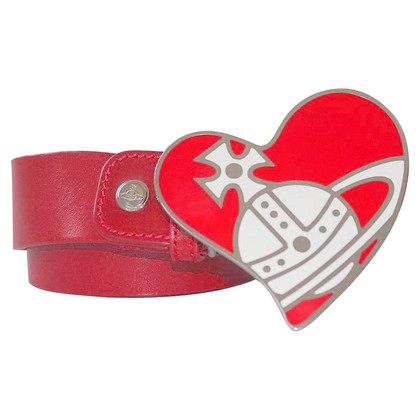 Vivienne Westwood Belt with heart buckle