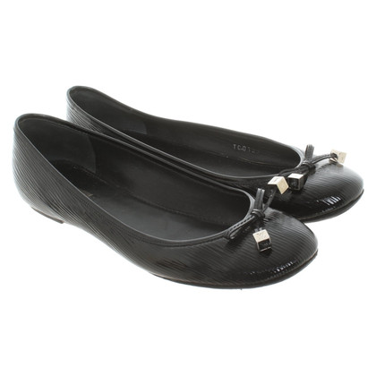 Louis Vuitton Ballerinas from Epi Electric leather