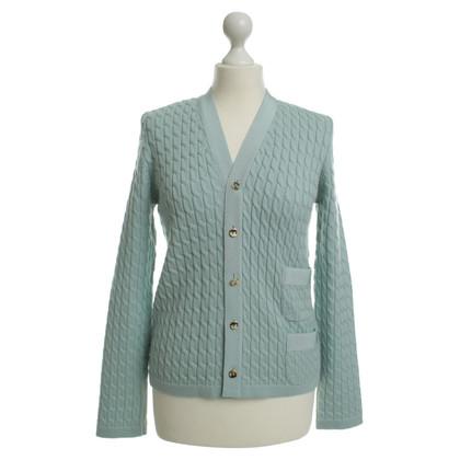 Salvatore Ferragamo Wollen vest trui in mint Green
