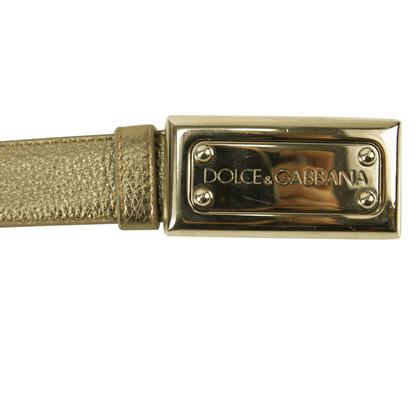 Dolce & Gabbana DOLCE & GABBANA zilveren riem SZ 36/90