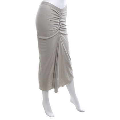Rick Owens skirt in Beige-grey