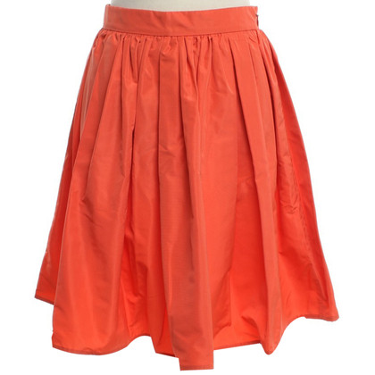 Miu Miu skirt in coral red
