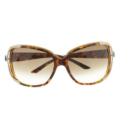Christian Dior Sonnenbrille mit großen Gläsern