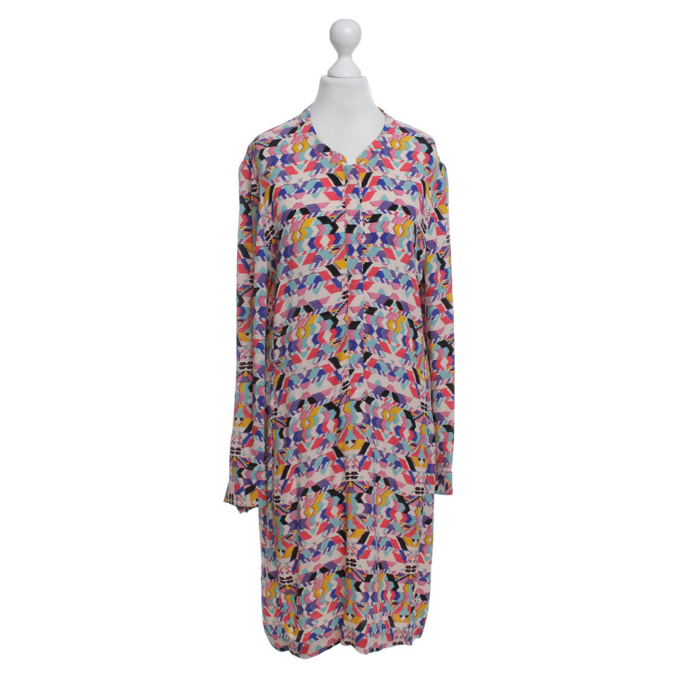 Antik Batik Dress With Colorful Pattern
