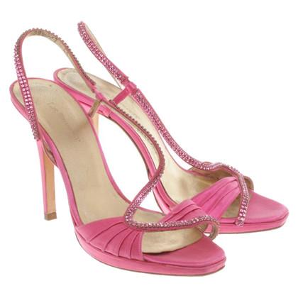 L.K. Bennett Peep toes pink