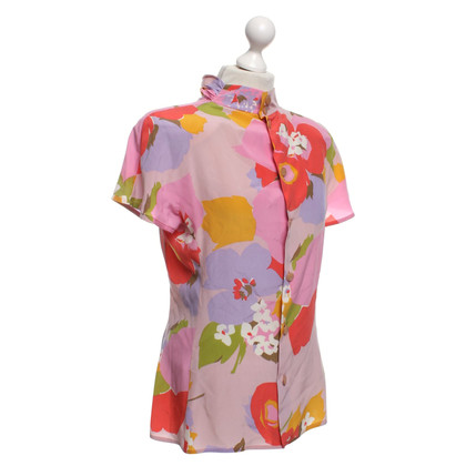 Valentino Bluse mit floralem Muster