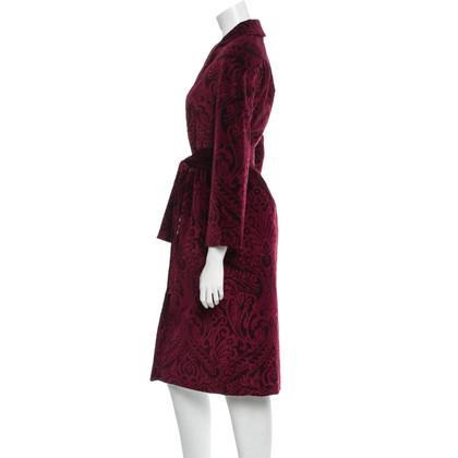 Dolce & Gabbana Velvet Coat