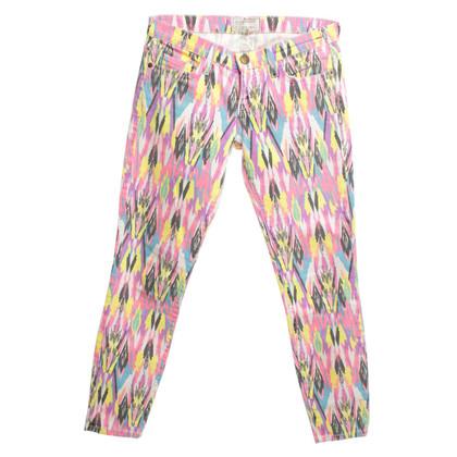 Current Elliott Jeans met etnische patronen