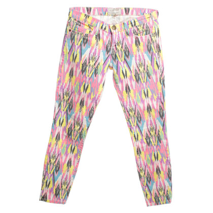 Current Elliott Jeans con motivi etnici