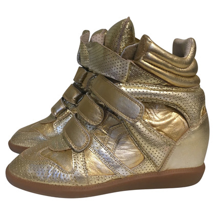 Isabel Marant Wedges in gold