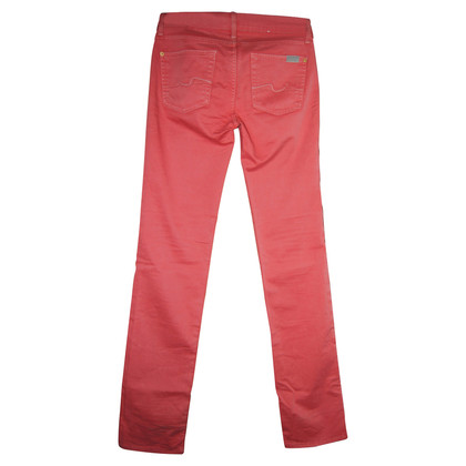 7 For All Mankind Pantaloni rosa