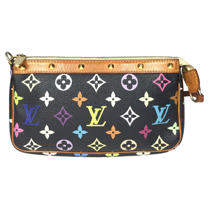 "Louis Vuitton ""Pochette Accessoires Monogram Multicolore Canvas"""