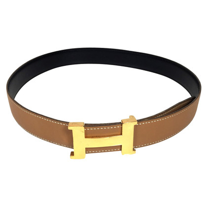 "Hermès Omkeerbare belt ""Constance"""