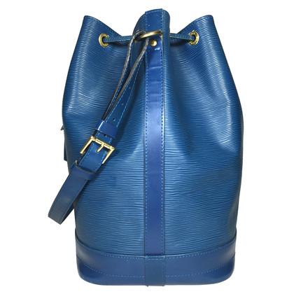 """Louis Vuitton """"Grand Noé EPI ' in blue"""