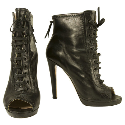 Miu Miu Miu Miu Black Lace up laarzen maat 40
