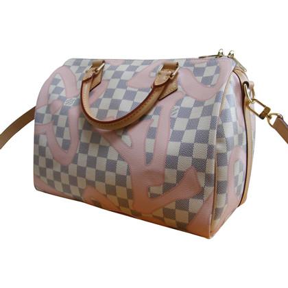 """Louis Vuitton """"Speedy 30 Damier Azur Tahitienne"""""""