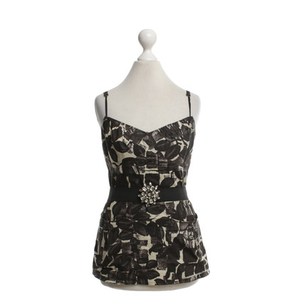 Vera Wang Top with floral pattern
