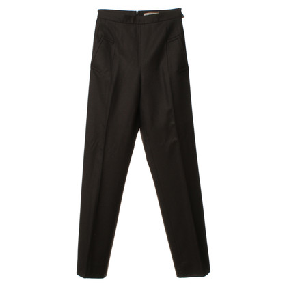 Bottega Veneta Broek in antraciet