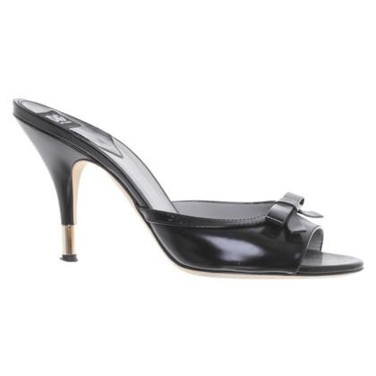 Dolce & Gabbana Mules in Schwarz