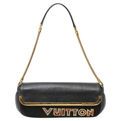 """Louis Vuitton Pochette """"Black Suede Avant Garde"""""""