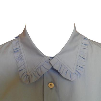 Miu Miu ruches overhemd