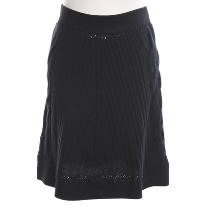 Philosophy di Alberta Ferretti Knitted skirt in black